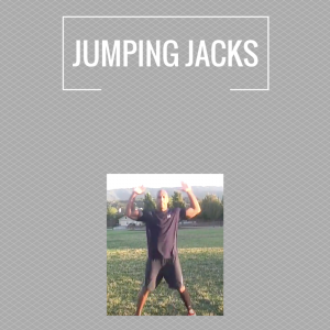 Exercises - jumping jacks