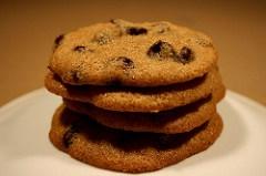 Microwave recipes - chocolate chip mug cookie