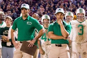 We Are Marshall was one of many movies filmed on college campuses.