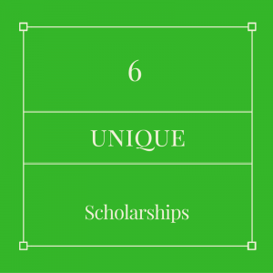 Here are six more unique scholarships!