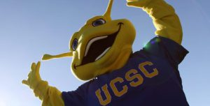 Sammy the Banana Slug is one of the weirdest college mascots.