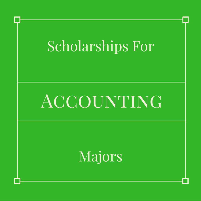 5 scholarships for accounting majors