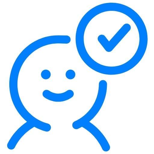 Person icon representing pros