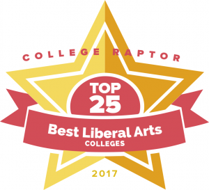 College Raptor's 2017 Top 25 Best Liberal Arts Colleges