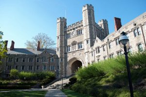 A building on the Princeton University - Best Colleges in the Northeast