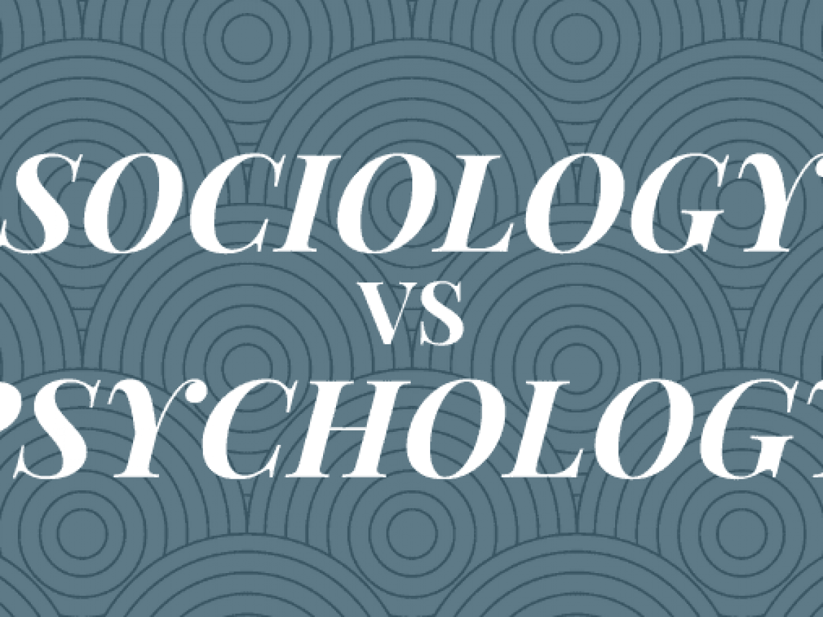 Sociology vs Psychology Majors: What's