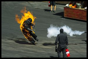 Flickr user aj-clicks - Stunt person