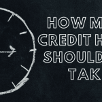 """A chalk drawing of a clock, with text next to the right that says """"how many credit hours should you take?"""""""