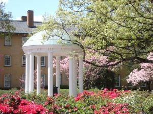 University of North Carolina at Chapel Hill old well.
