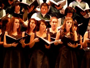 Having extracurricular activities, like choir, is important, but so is focusing on your grades.