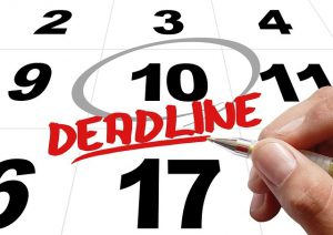There are four types of college application deadlines