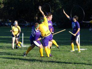 College clubs - Quidditch club