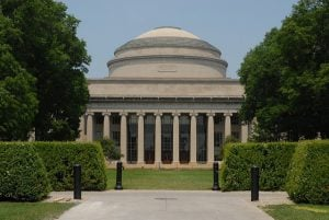 Massachusetts Institute of Technology's dome building.
