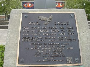 "Mascots - Auburn University – ""War Eagle"""