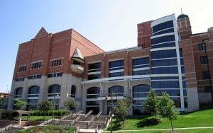 Kansas University Union building.