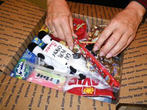 Make college care packages for your homesick student!