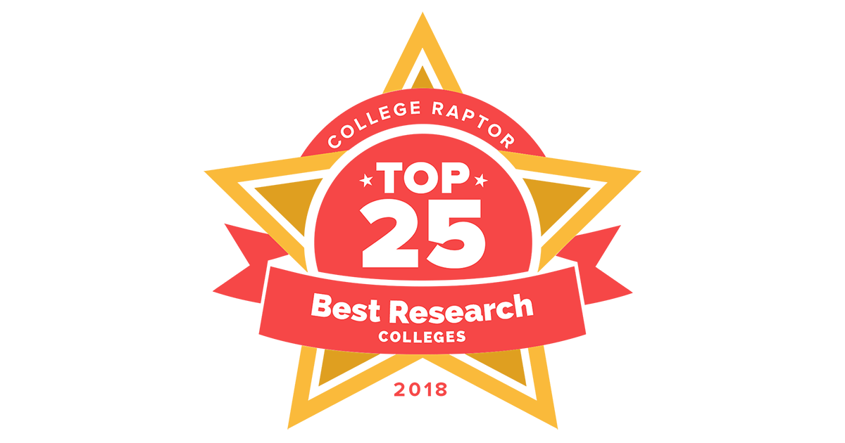 Top 25 Best Research Colleges Press Kit | College Raptor