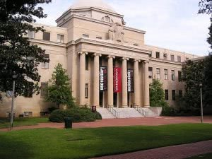 McKissick Library at the University of South Carolina.