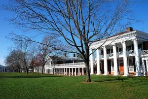 Top 25 Best Colleges in the Southeast - University of Virginia Main Campus