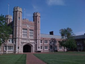 Brookings Hall at Washington University in St Louis.