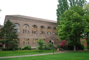Western Washington University library building.