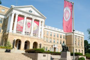 University of Wisconsin-Madison's signature building.