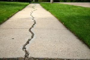 Like a gap on a sidewalk, gapping is when a college can't meet the full financial needs of a student.
