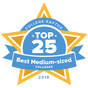 Top 25 Best Medium-Sized Colleges | 2019 - College Raptor