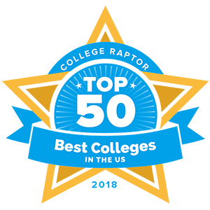 Here's our top 50 best colleges in the US!