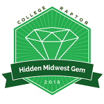 College Raptor's 2018 Hidden Midwest Gem list
