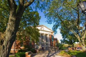Illinois Wesleyan University's campus - Hidden Midwest Gems