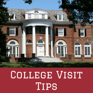 We have a few college visit tips that aren't as well-known.