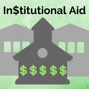 What is institutional aid