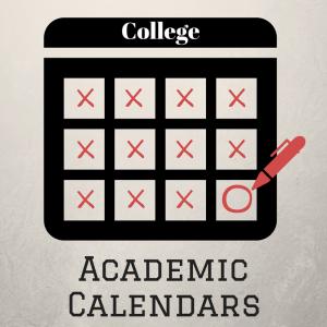 Types of academic calendars