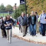 Should your parents come with you on a college visit?