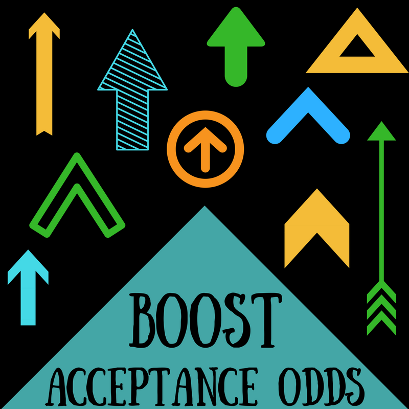 Boost your college acceptance odds with these helpful tips.
