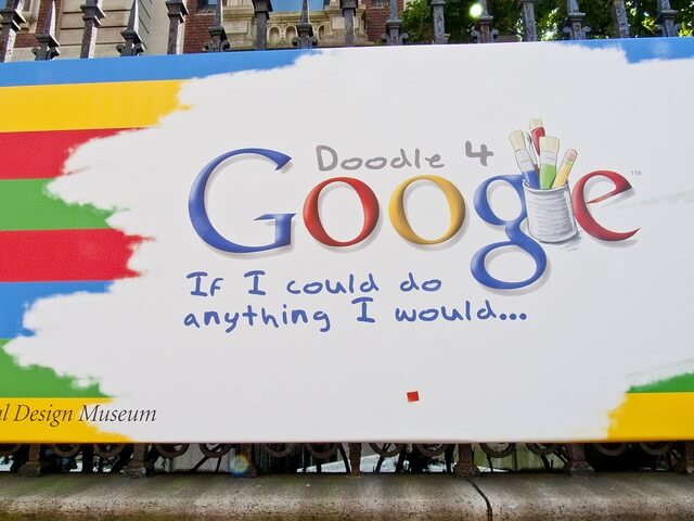 Doodle 4 Google design competition poster.