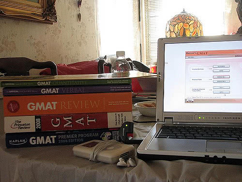The GMAT stands for Graduate Management Admission Test.