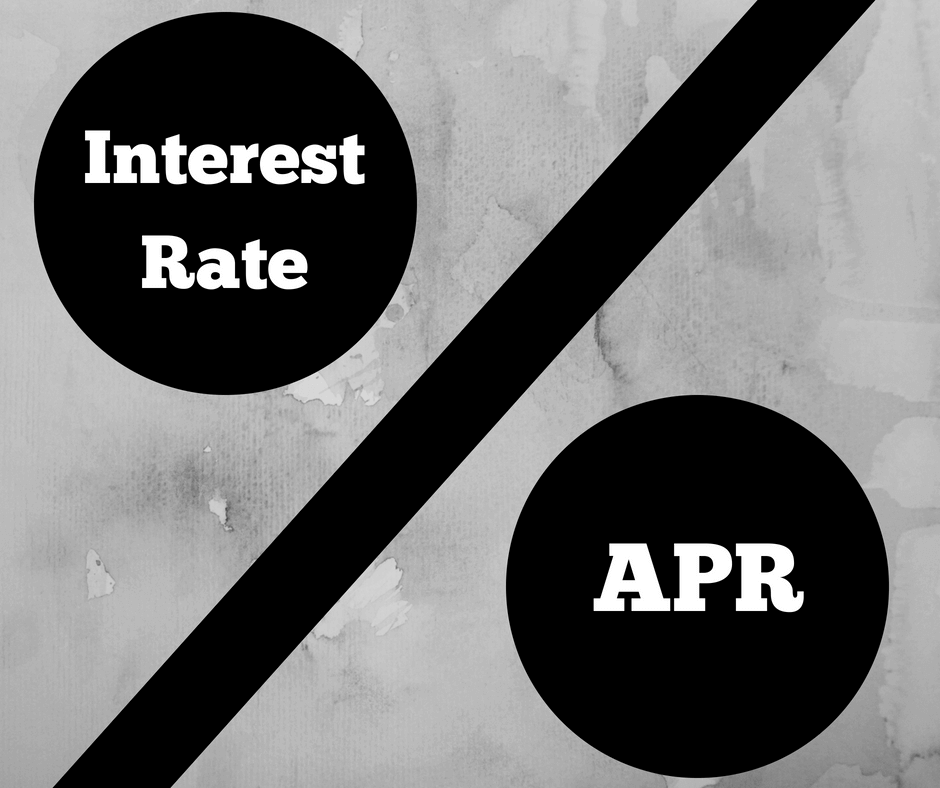 We breakdown the difference between APR vs interest rate.
