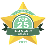 Top 25 Best Medium-Sized Colleges