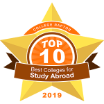 Top 10 Colleges for Study Abroad