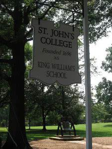 Hidden Gems in the Northeast - St. John's College (MD)