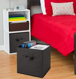 Dorm room -- Basic foldable cubes