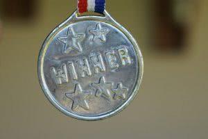Winner medal