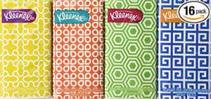 Kleenex packs -- finals survival kit