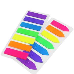 Study sessions school supplies -- loveS 10 sets neon page market colored index tabs