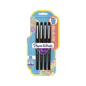 Study sessions school supplies -- paper mate flair felt tip pens