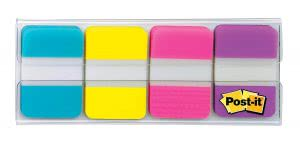 Study sessions school supplies -- post it tabs