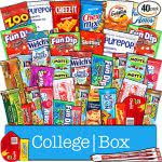 Snack care package -- finals survival kit