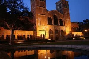 Royce Hall at UCLA used in Nightmare on Elm Street 3